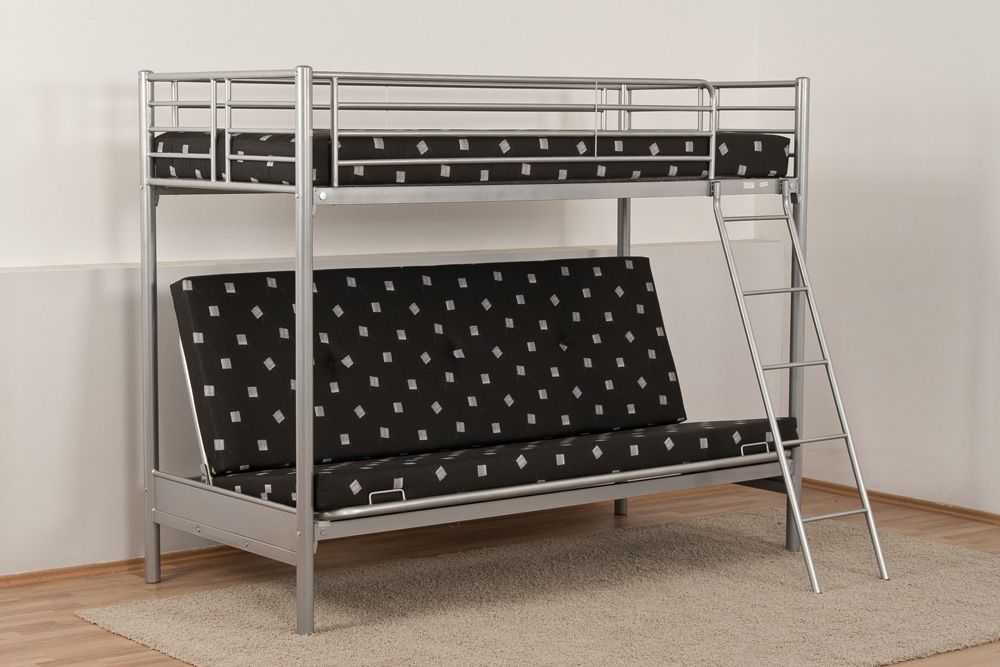 metall etagenbett hochbett metallbett m schlafsofa metallgitterrahmen matratzen ebay. Black Bedroom Furniture Sets. Home Design Ideas
