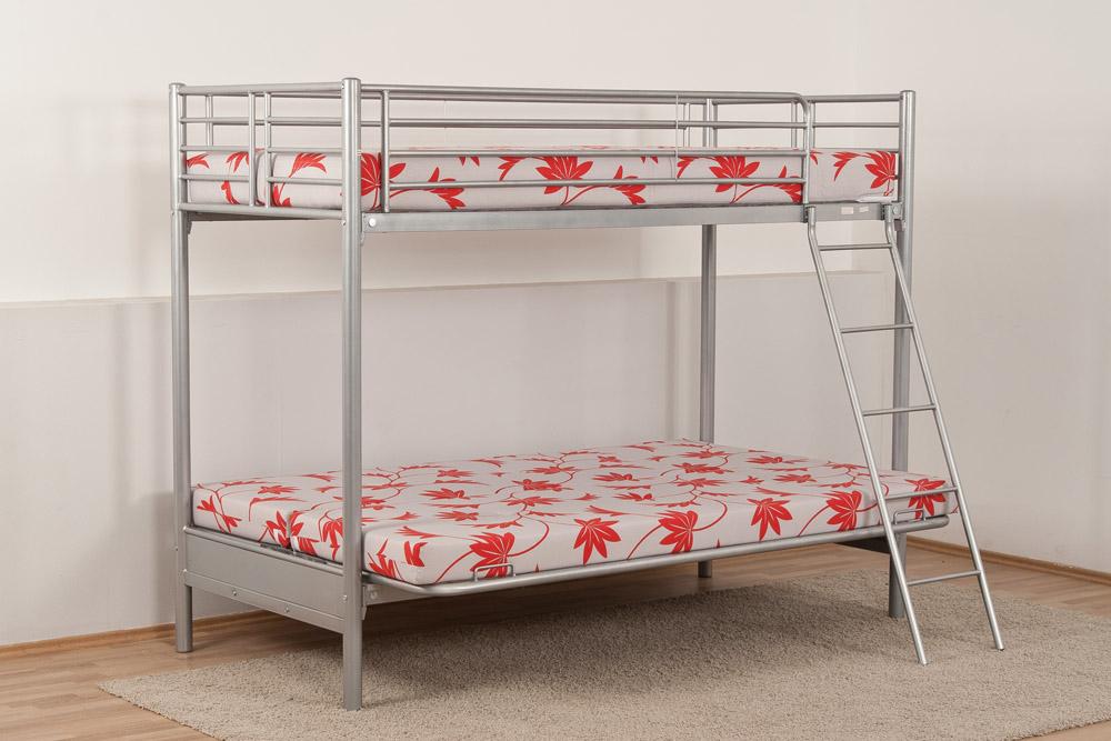 metall etagenbett hochbett metallbett m schlafsofa metallgitterrahmen matratzen ebay. Black Bedroom Furniture Sets. Home Design Ideas