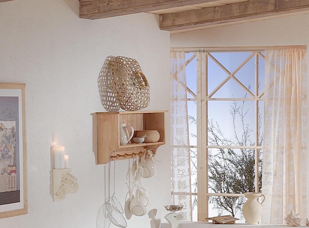 tellerregal wandregal regal kiefer massiv natur farblos lackiert breite 90 cm ebay. Black Bedroom Furniture Sets. Home Design Ideas