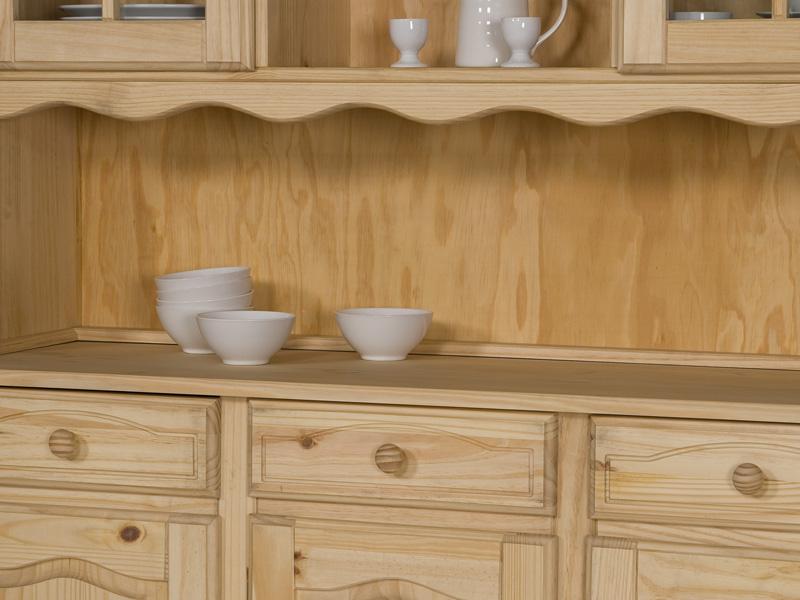 buffet k chenbuffet k chenschrank kiefer natur lackiert oder gelaugt ge lt. Black Bedroom Furniture Sets. Home Design Ideas