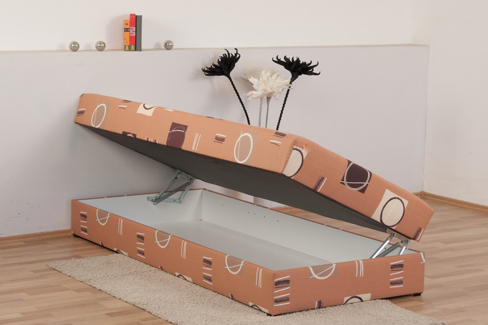 polsterliege mit umbau und bettkasten liege mit bettkasten 90x200 polsterliege mit bettkasten. Black Bedroom Furniture Sets. Home Design Ideas