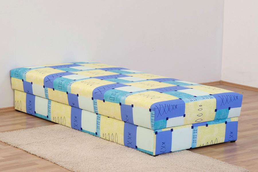 polsterliege polsterbett bett 90 x 200 cm mit. Black Bedroom Furniture Sets. Home Design Ideas