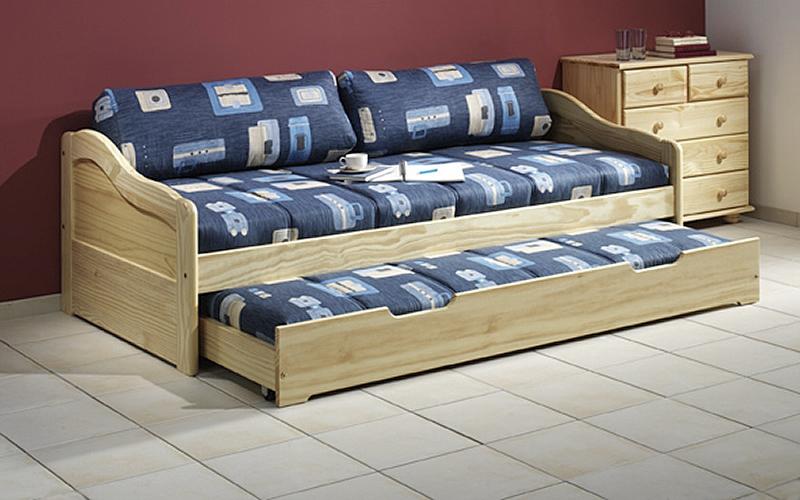 funktionsbett kojenbett jugendbett kiefer natur lackiert oder gelaugt ge lt ebay. Black Bedroom Furniture Sets. Home Design Ideas