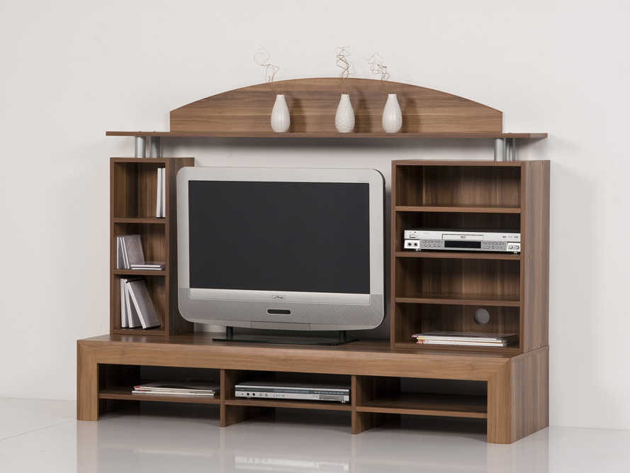 nussbaum tvhifi center medienm bel tv schrank nussbaum. Black Bedroom Furniture Sets. Home Design Ideas