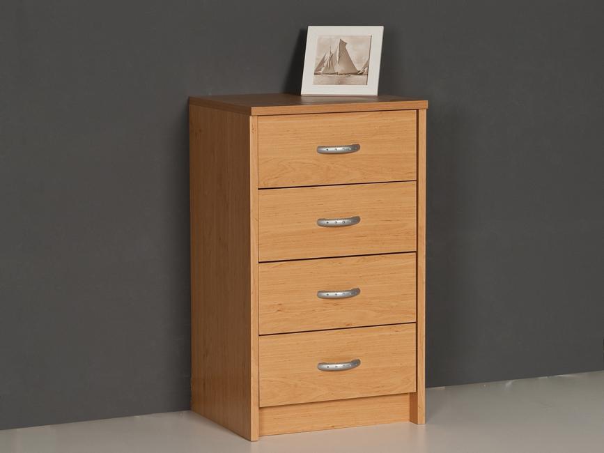 schubkastenkommode sideboard kommode anrichte 4 schubk sten erle dekor ebay. Black Bedroom Furniture Sets. Home Design Ideas