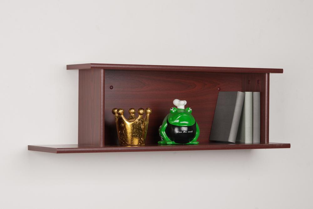 wandregal h ngeregal regal b cherregal wandboard mahagoni dekor breite 150cm ebay. Black Bedroom Furniture Sets. Home Design Ideas