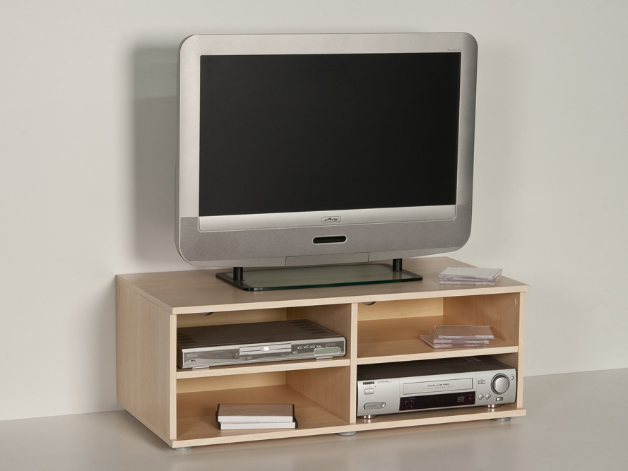 fernsehschrank lowboard tv regal tv schrank phonom bel ahorn dekor ebay. Black Bedroom Furniture Sets. Home Design Ideas