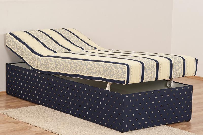 polsterliege polsterbett 90 x 200 cm komforth he 54 cm ebay. Black Bedroom Furniture Sets. Home Design Ideas