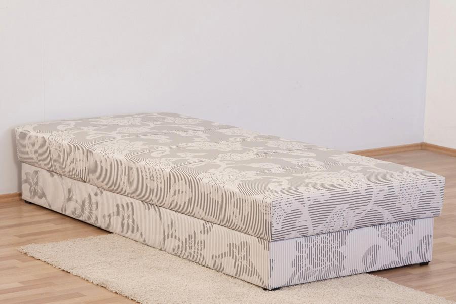 polsterliege polsterbett bett 90 x 200 cm verstellbar federkern. Black Bedroom Furniture Sets. Home Design Ideas