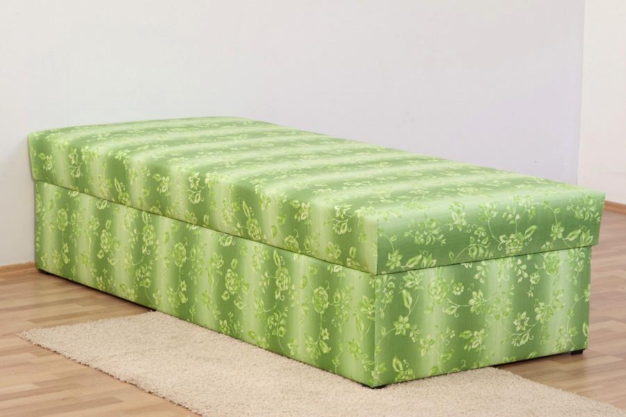 polsterliege polsterbett g stebett 90 x 200 cm komforth he 54 cm federkern ebay. Black Bedroom Furniture Sets. Home Design Ideas
