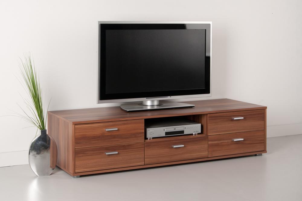 tv schrank nussbaum inspirierendes design. Black Bedroom Furniture Sets. Home Design Ideas