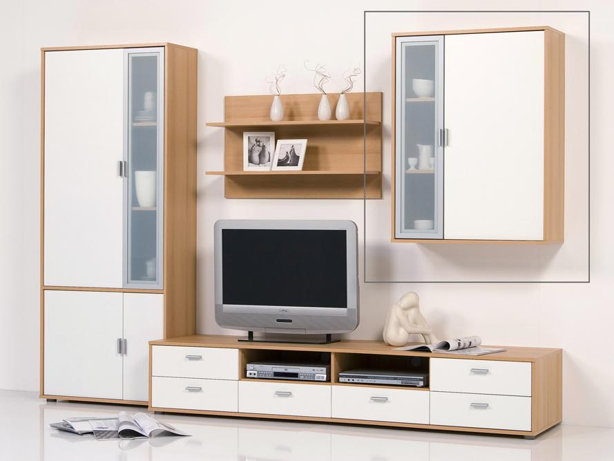 hangeschrank wohnzimmer buche riemchen verblender. Black Bedroom Furniture Sets. Home Design Ideas