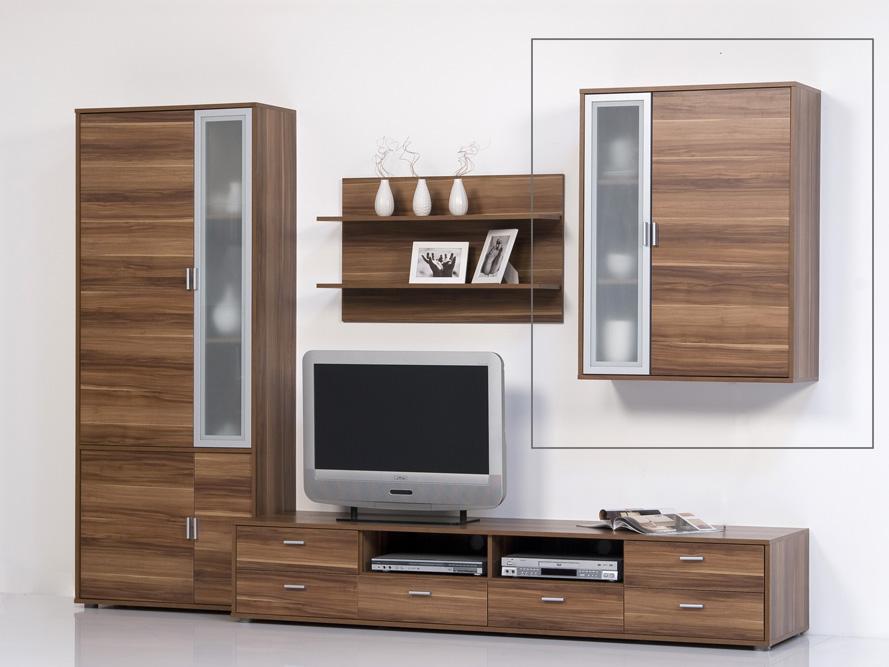 hangeschrank wohnzimmer nussbaum das beste aus. Black Bedroom Furniture Sets. Home Design Ideas