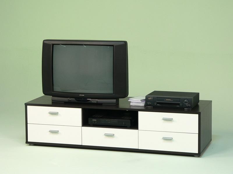 lowboard tv schrank tv element fernsehschrank wenge wei ebay. Black Bedroom Furniture Sets. Home Design Ideas