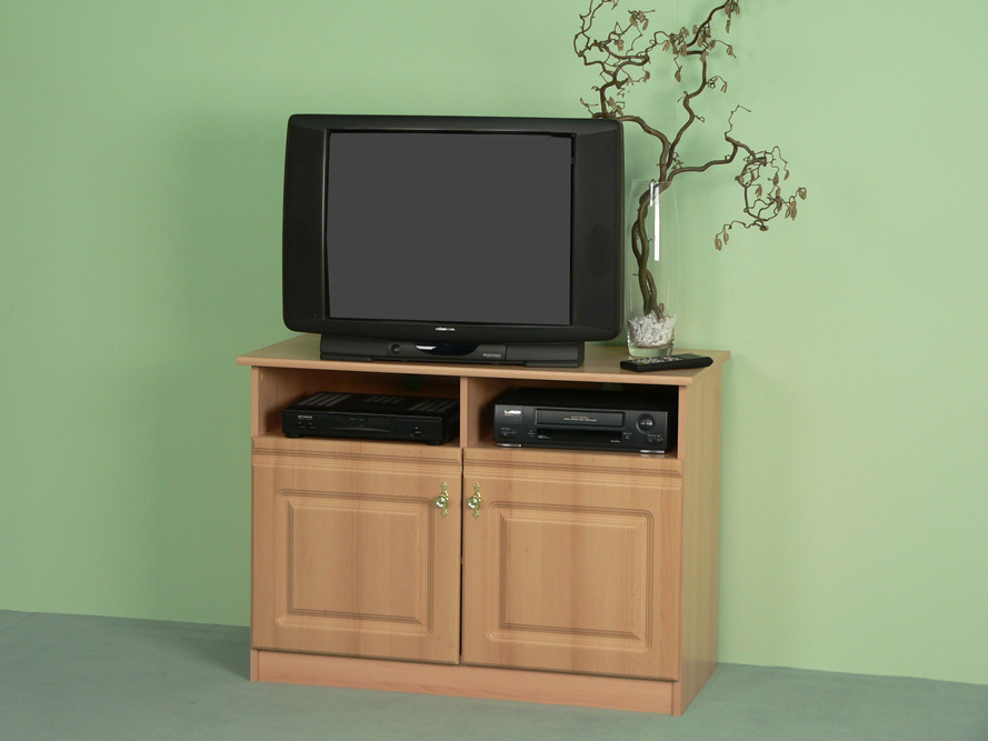 fernsehschrank tv schrank buche front mdf ebay. Black Bedroom Furniture Sets. Home Design Ideas
